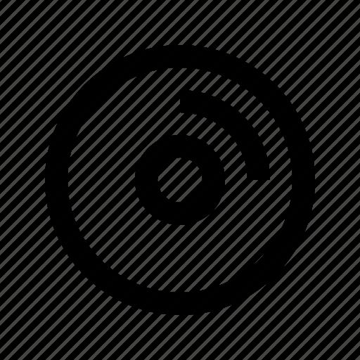 disc, electronics, hardware, media, multimedia icon