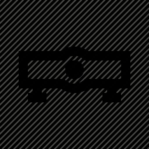 electronics, hardware, media, multimedia, projector icon