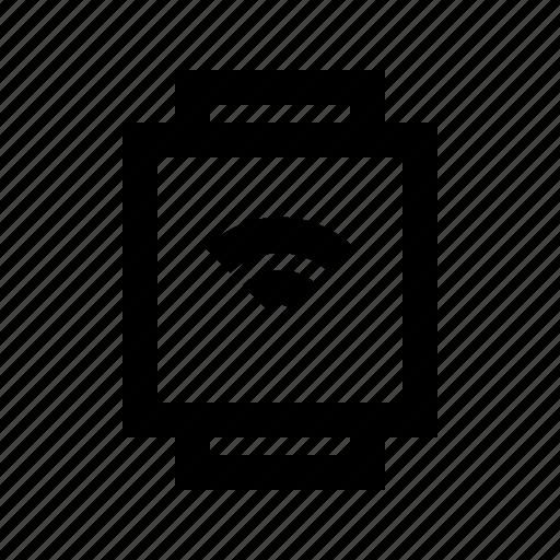 electronics, hardware, media, multimedia, smartwatch icon