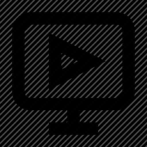 electronics, hardware, media, multimedia, videoplayer icon