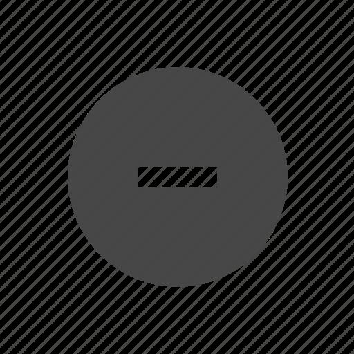 -, - button, button, down, media button, subtract, volume icon
