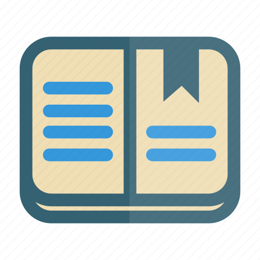 Book, bookmark, education, learning, school icon - Download on Iconfinder