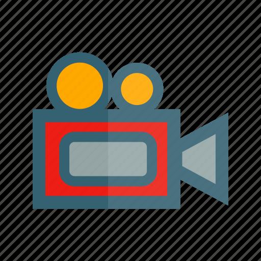 film, footage, media, recording, video icon