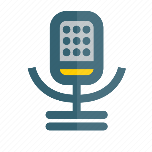 microphone, recording, speech, voice icon