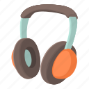 cartoon, headphone, modern, music, sound, stereo, volume icon