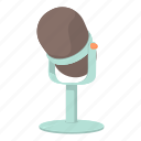 audio, cartoon, equipment, mic, microphone, retro, sound icon