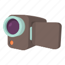 camcorder, camera, cartoon, digital, media, technology, video icon