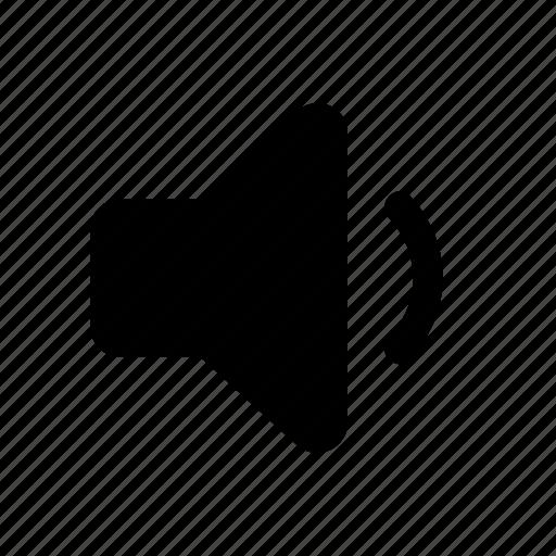 decrease volume, down, low volume, quieter, vol, volume down, volume down button icon