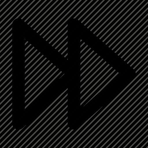 Fast, fast forward, forward, nexy icon - Download on Iconfinder