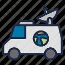 media, news, satellite, television, vehicle