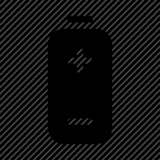 battery, electronics, hardware, media, multimedia, poles icon
