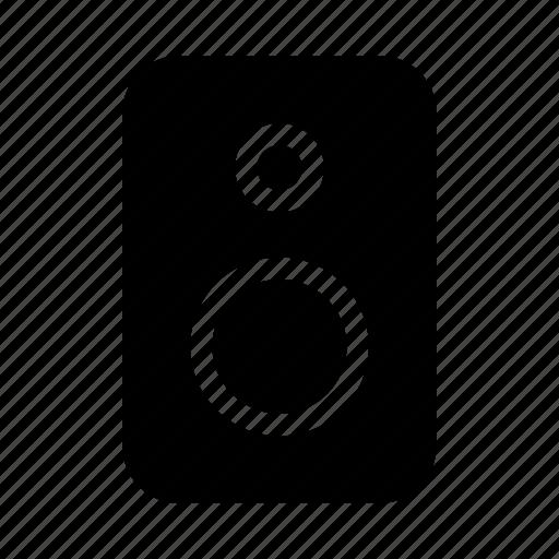 electronics, hardware, media, multimedia, speaker icon