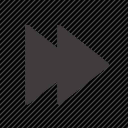 Forward, fast icon - Download on Iconfinder on Iconfinder