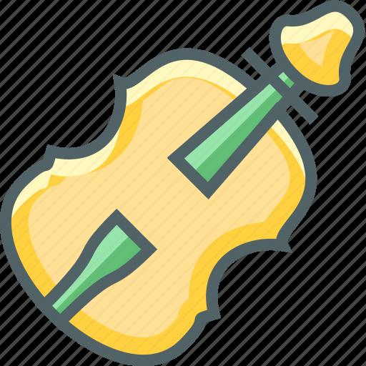contrabass, equipment, instrument, media, multimedia, music, musical icon