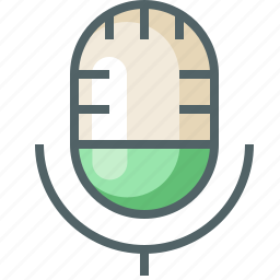 mic, microphone, multimedia, music, record, sound, voice icon