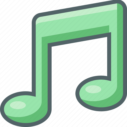 audio, bar, multimedia, music, note, player, single icon