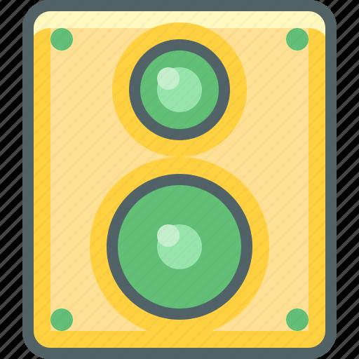 audio, loudspeaker, media, multimedia, sound, speaker, volume icon