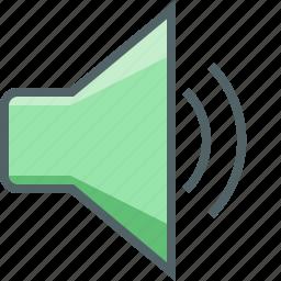 audio, loudspeaker, medium, multimedia, player, speaker, volume icon