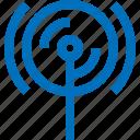 antenna, hotspot, internet, network, online, signal, wireless