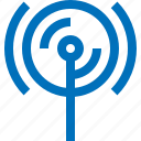 antenna, hotspot, internet, network, online, signal, wireless icon