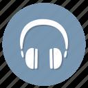 headphones, audio, earphone, music