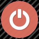 shutdown, turn, off, power icon