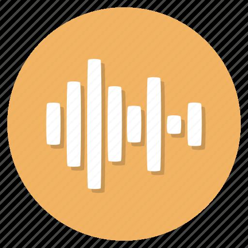audio, sound, wave icon