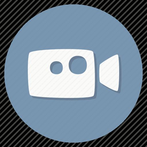 camera, cinema, movie, multimedia, video icon