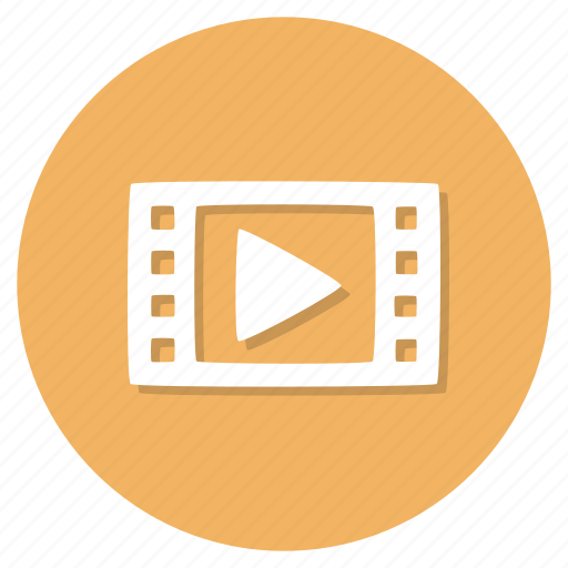 file, format, movie, video icon