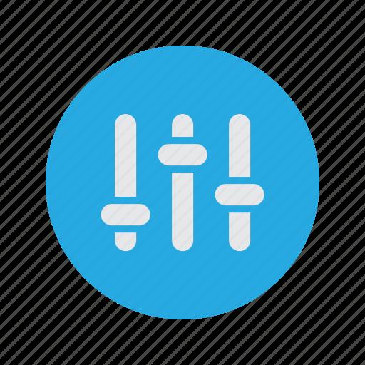 mixer, settings, volume, volumes icon