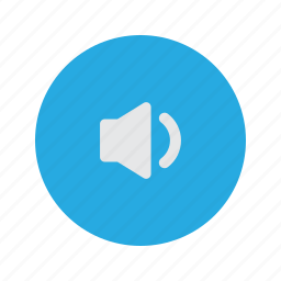 low, quiet, speaker, volume icon