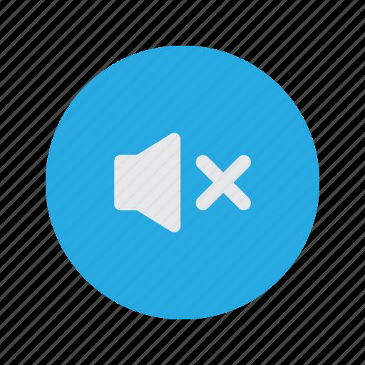 mute, silence, sound, speaker, volume icon