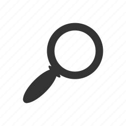 find, inspect, look, lookup, magnify, search icon