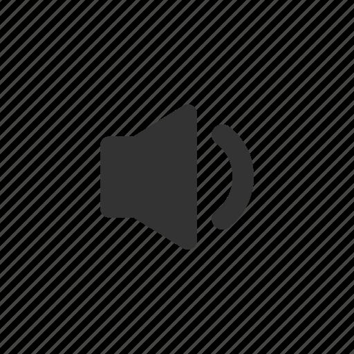 low, music, sound, speaker, volume icon