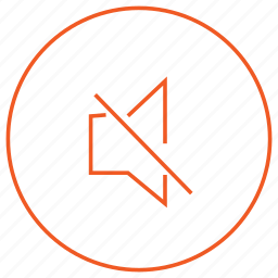audio, media, music, mute, player, video, voice icon