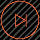 audio, media, music, next, player, skip, video