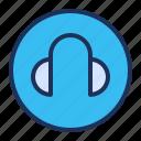 earphone, headphone, headset, media player
