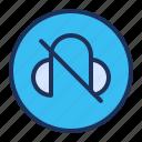 headphone, media player, mute, silent