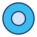 media player, rec, record, recording icon