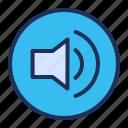 loudspeaker, media player, speaker, volume
