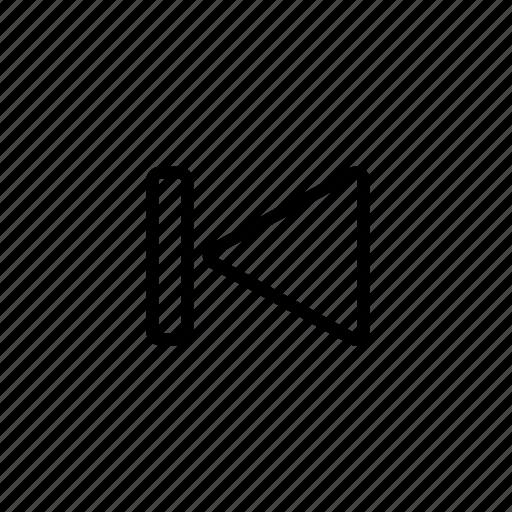 rewind, rewind arrow, rewind button, rewind icon, rewind symbol, rewind to beginning, skip to beginning icon