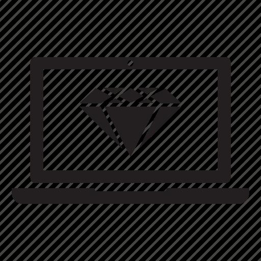 clean code, market, media, seo icon