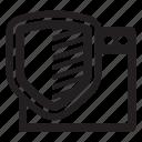 market, media, protection, seo icon