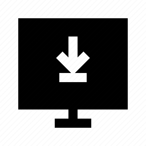download, electronics, hardware, media, multimedia icon