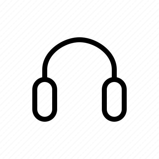 electronics, hardware, headphones, media, multimedia icon