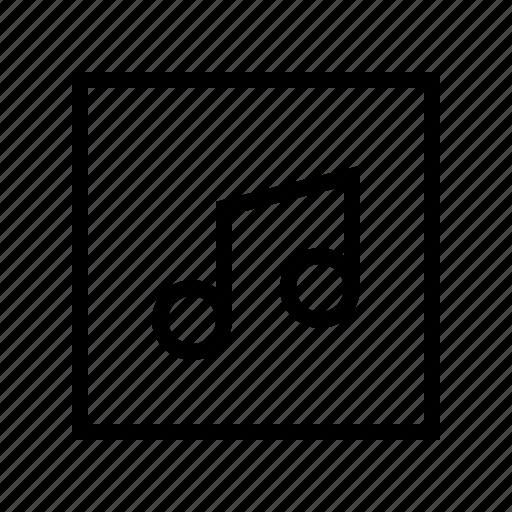 electronics, hardware, media, multimedia, music icon