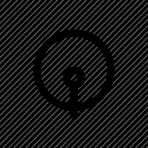 base, drum, instrument, music icon