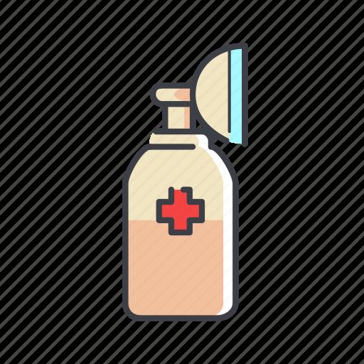 asthma, breathe, ilness, lungs, organ, treatment icon