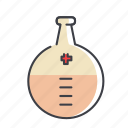 beaker, beater, chemical, chemistry, equipment, experiment icon