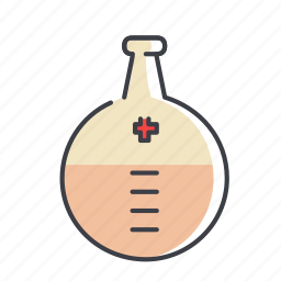 beaker, beater, chemical, chemistry, equipment, experiment icon